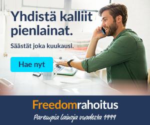 Freedom Rahoitus etsii parhaat 50 000 euron lainat