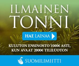 Ilmaista lainaa Suomilimiitiltä