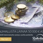 Rahoitu.fi – Turvallista lainaa nopeasti aina 60 000 euroon saakka