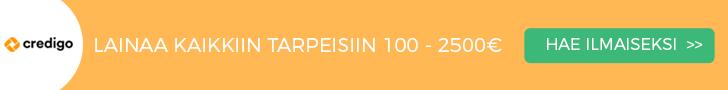 Credigo pikalainaa 100-2500€