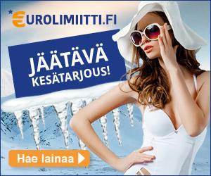 Eurolimiitiltä 1000€ laina ilmaiseksi