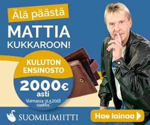 Suomilimiitti ilmainen & koroton 2000€ laina