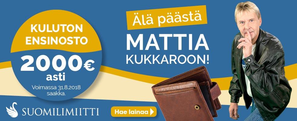 Suomilimiitti tarjoaa 2000€ ilmaisen lainan