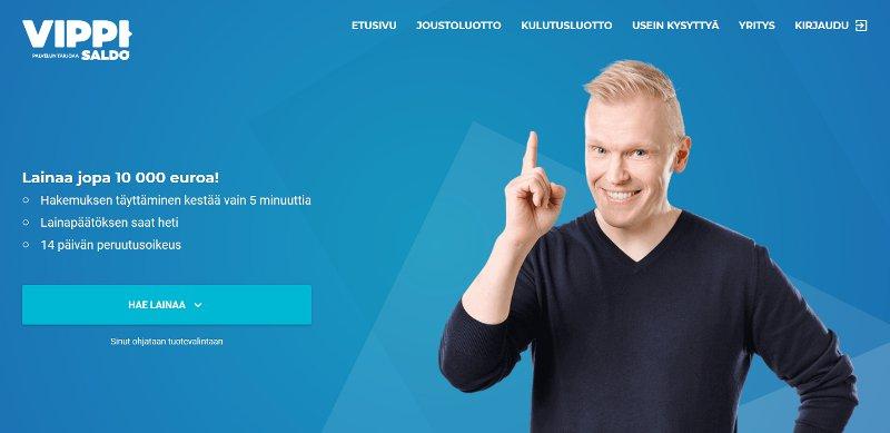 Vippi.fi kulutusluotto & joustoluotto