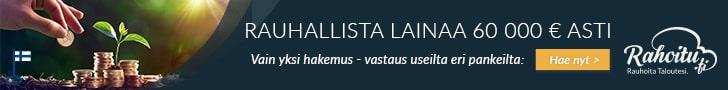 Rahoitu.fi tarjoaa parhaat lainaehdot